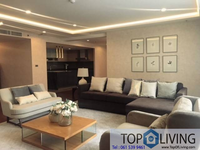Fully furnished 4 beds for rent at The Hudson Sathorn Soi 7