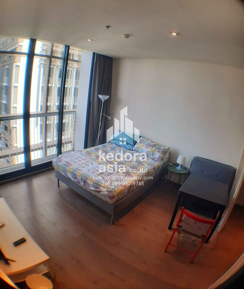 BO-P24-Park 24 1 bedroom 1 bathroom Size 32 sqm About 800 m from Phrom Pong BTS